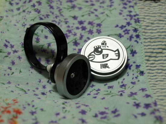 携帯クリップ魚眼レンズ