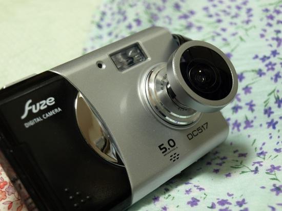 Fuze DC517に魚眼レンズを取り付けた・1