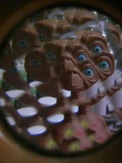 ETを撮るとこんな感じです(笑)