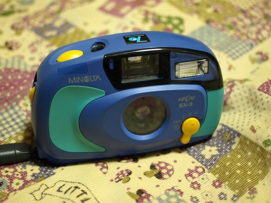 ミノルタ Vectis GX-3 ブルー・エンジェル:70周年記念品