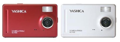YASHICA EZ F525:レッド・ホワイト