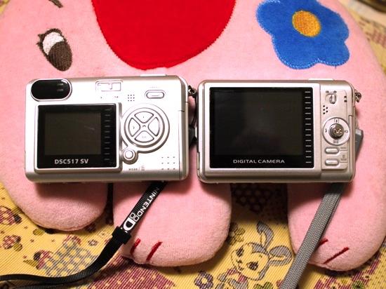 左・Kenko DSC517:右・VistaQuest VQ-7024