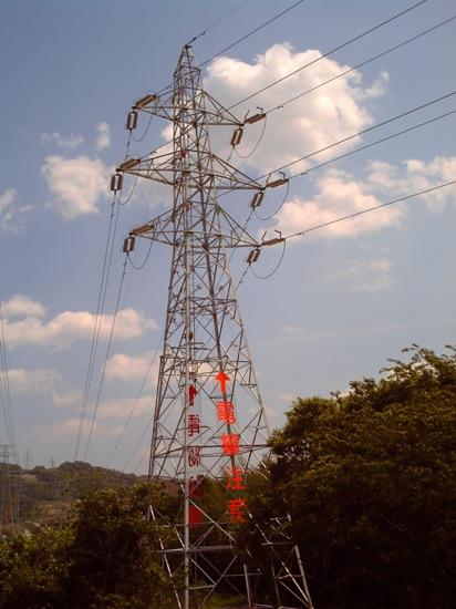 電線注意 Σ(゚д゚lll)