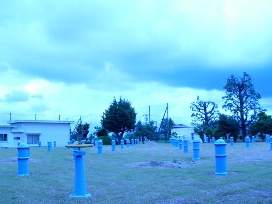 先日載せた写真もこの浄水場で撮った写真でしたヽ(´ー`)ノ