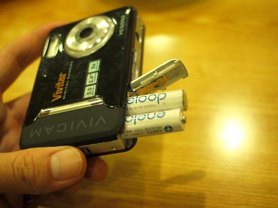 やっぱり乾電池はエネループでした!