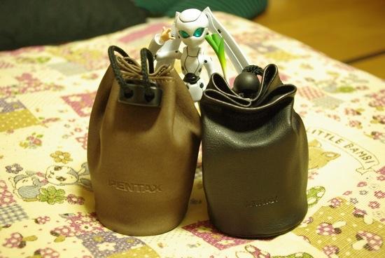 このレンズが入ってる袋がすでにオシャレで可愛い!つーか、ドロちゃんネギ持ってる!(何w