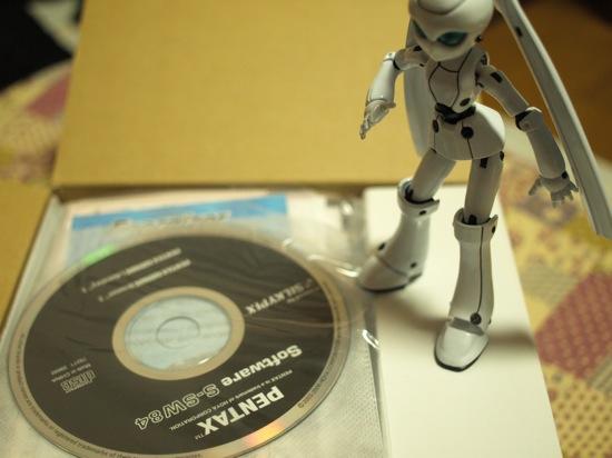 ソフトウェアCDや説明書!どーーーーんっ!