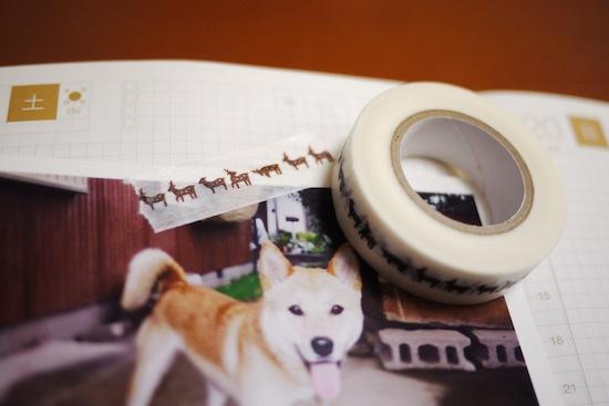 こんな感じで手帳に写真とか切り抜きを貼ろうと思ってます。
