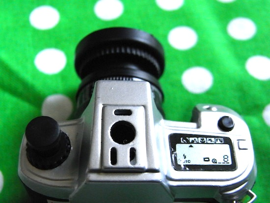 このカメラ型ライター細かな部分まで可愛いですよヽ(´ー`)ノ