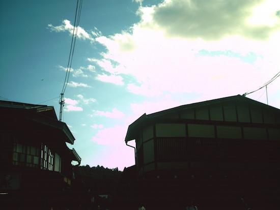 Kenko DSC517で撮ったこの空の色が好きなんですよ!