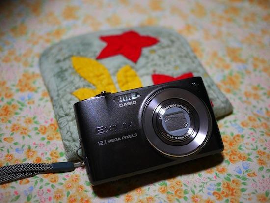 手作りのカメラケースもかわいかった!