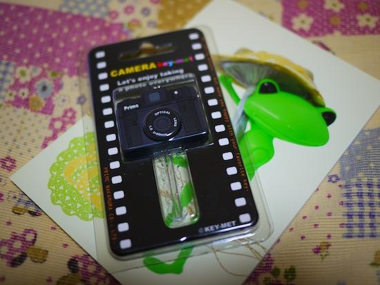 カメラ型キーカバー