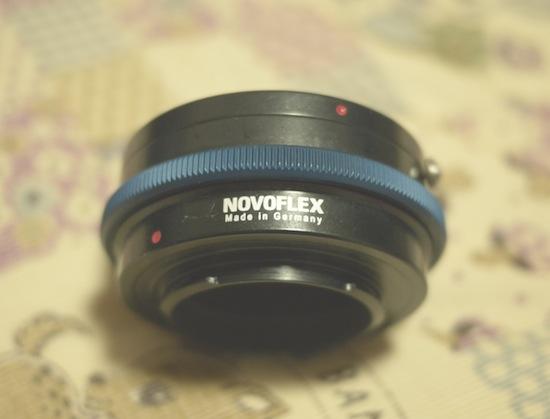 NOVOFLEX マウントアダプター(ペンタックスK→マイクロフォーサーズ)MFT/PENT
