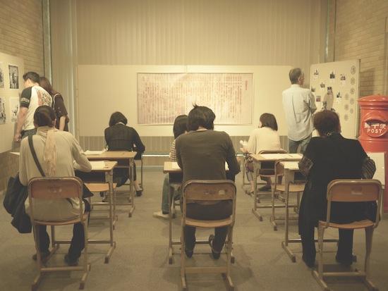 ここは教室・・ではありません(笑)ヒストリーオブ浅田家のブースです。