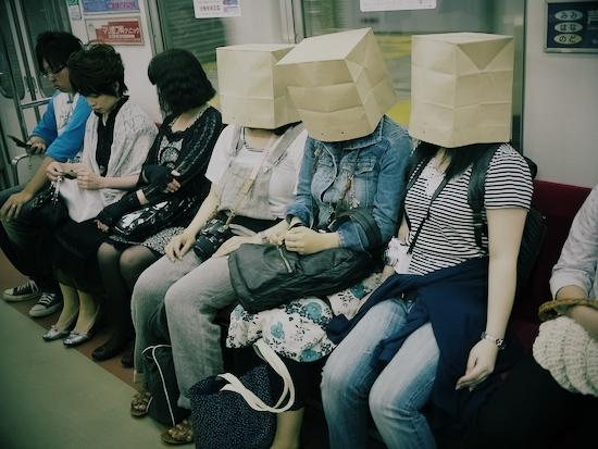 地下鉄紙袋線
