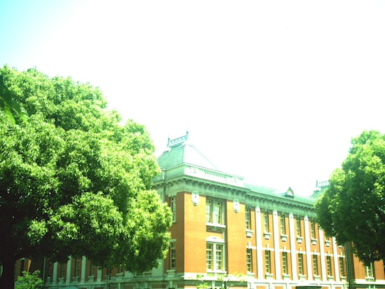 みどりかぶりな写真も似合う建物ですヽ(´ー`)ノ