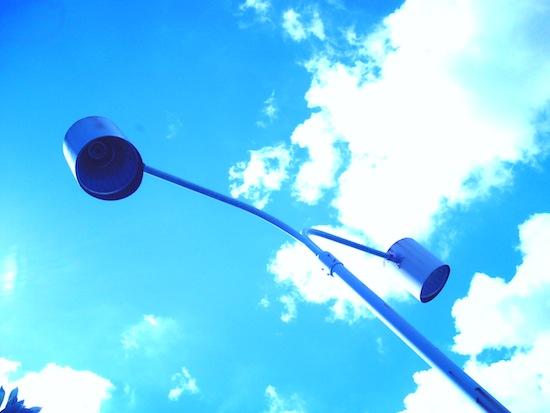 ホワイトバランスを電球にして撮影。