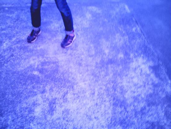 夕暮れ撮った後にツマーの足下撮ったらこんな色に!