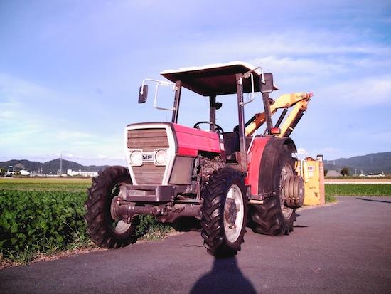 農機具はいいなー!
