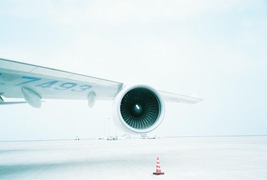 飛行機ヽ(´ー`)ノ