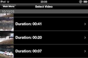 チルトシフト動画に変換する動画をまずは選びます。