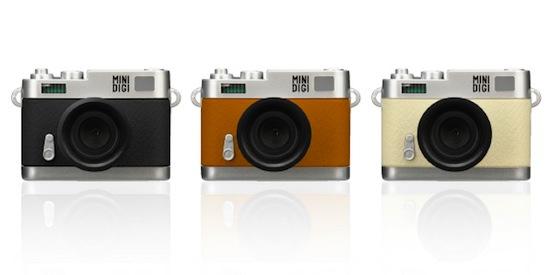 クラシックな外観のトイデジカメ「GH-TCAM30Cシリーズ」
