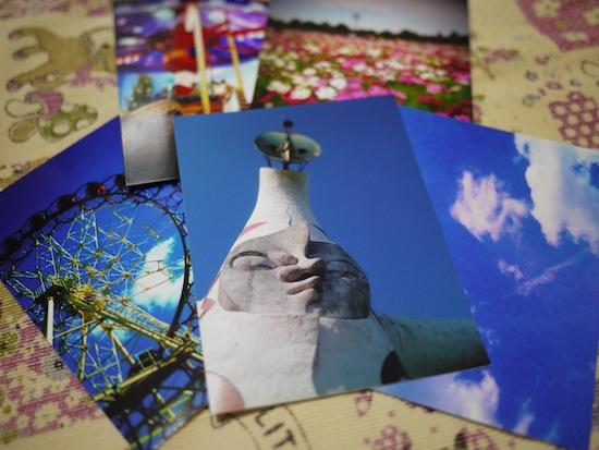 印刷された写真を並べてみた。