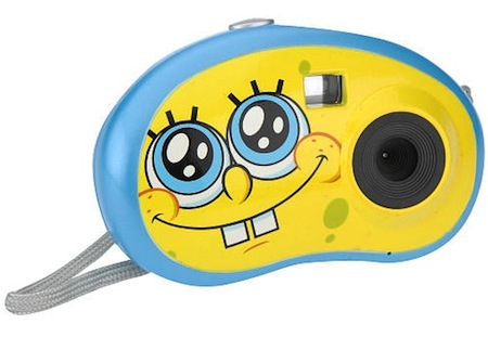 SpongeBob 3-in-1 Digital Camera