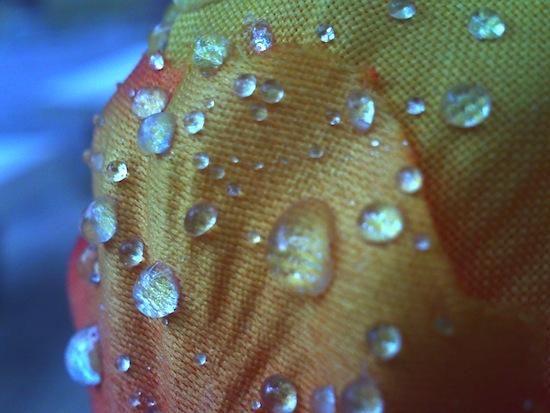 水滴(造花です)