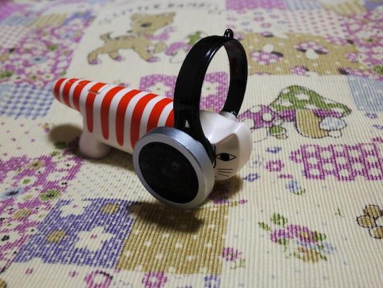 ネコノデジタルカメラ:携帯クリップ魚眼レンズ