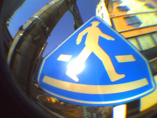 歩く:ネコノデジタルカメラ