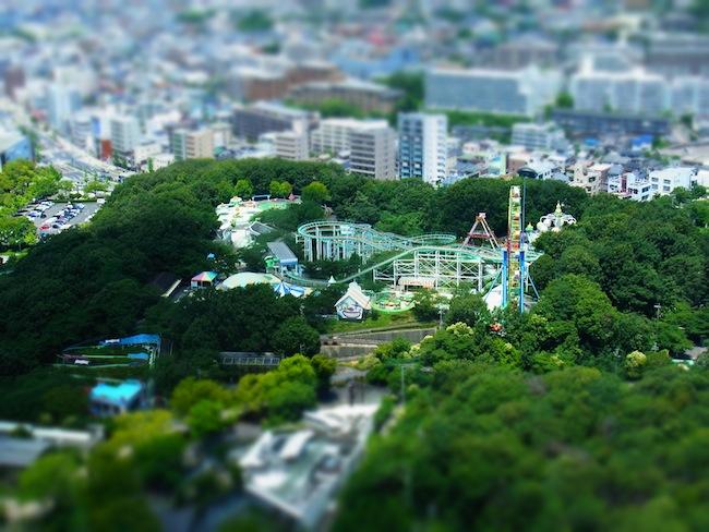 東山スカイタワーから:RICOH CX5