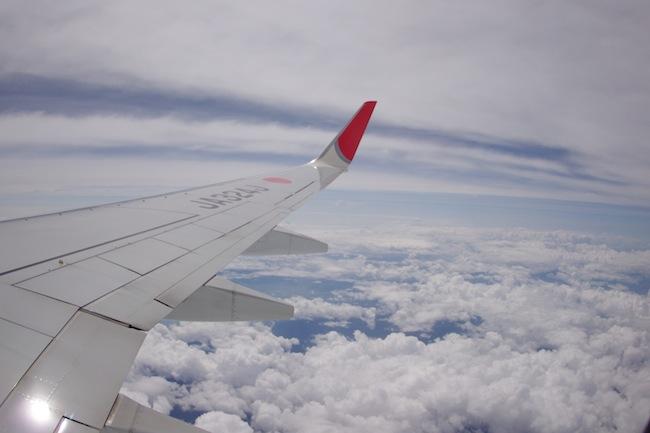 飛行機の窓から撮る写真が!もう普通のレンズじゃ考えられない写り!