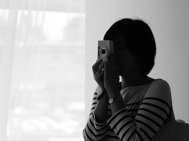美術館にて。NATURAを全員持っているのでカメラ女子!って雰囲気の写真がたくさん撮れて楽しかったです。