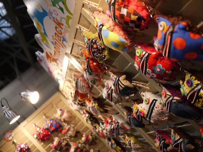 前回のクリマより展示スペースが増えて凄い数のモンヂャックとアンキモくんが!