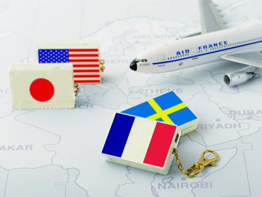 MARK'Sの国旗や切手など旅をモチーフにしたデジカメ