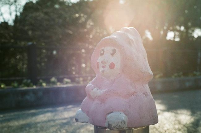 ピンクの子