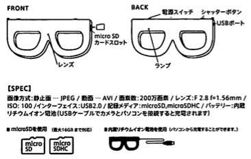 メガネカメラ説明