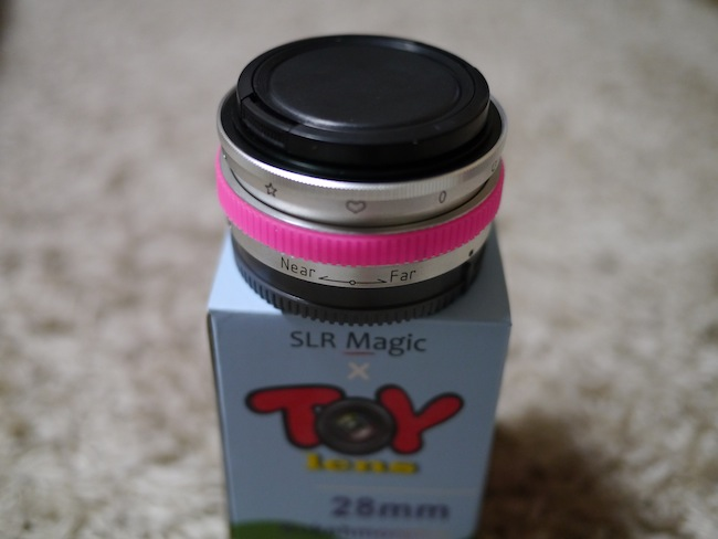 SLR Magic x Toy Lens 28mm Bokehmorphic lens