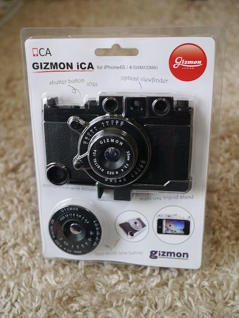 人気のクラシックカメラスタイルのiPhoneケース「GIZMON iCA」に新型登場!ミリタリースタイルのiPhoneケース「iCA MILITARY」!!!