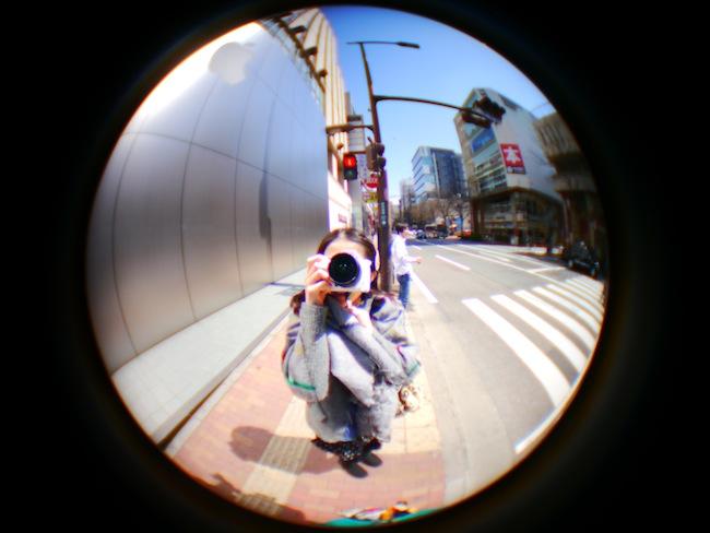 撮影:ロンスタ:LUMIX DMC-GX1(LUMIX G 20mm F1.7 ASPH. + 魚眼レンズ IDF-1)