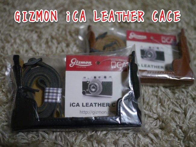 クラシックカメラスタイルのiPhoneケース「GIZMON iCA」をさらにオシャレにする「iCA レザーケース」