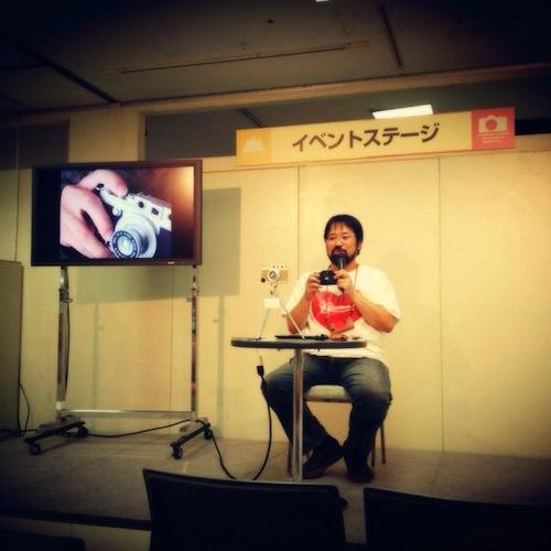 GIZMON iCAに関するトークイベントでした。