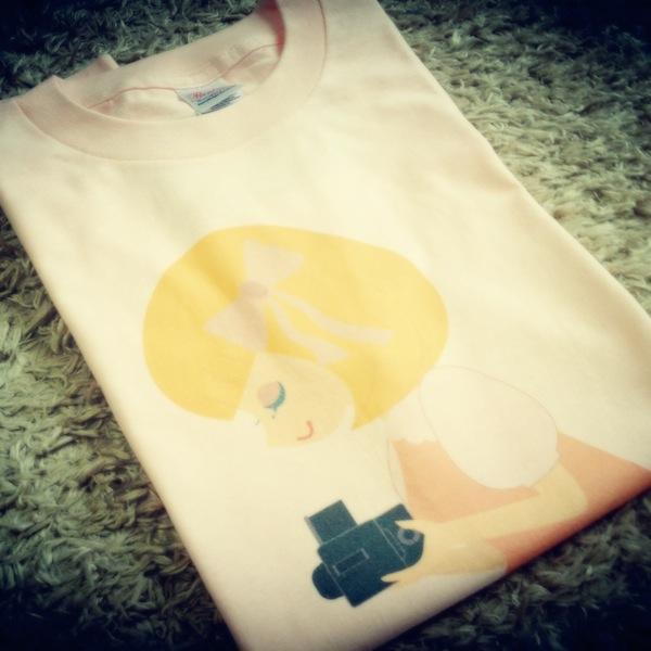 Tシャツ…プリントいまいちだったらどうしようと心配していましたが…これなら満足!!!