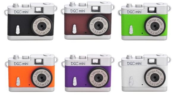 トイカメラ DSC mini(クラシックカメラ風デザインの131万画素トイデジタルカメラ)