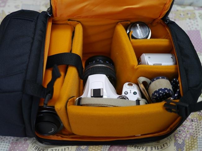 一眼レフカメラ用スリングバッグ