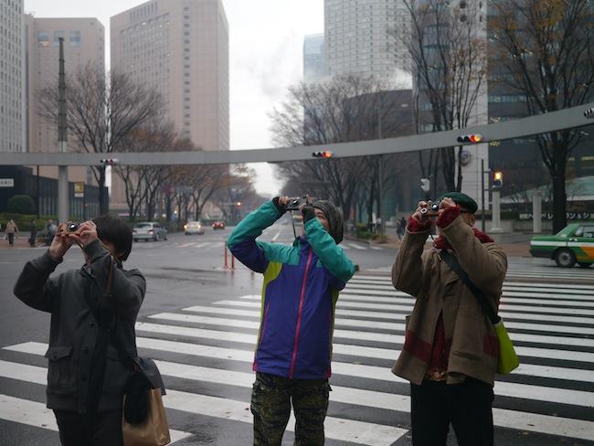 新宿のビルなどをiCAを使って撮影しました。