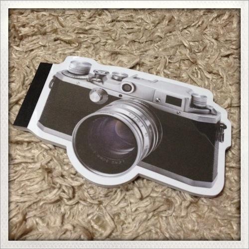 カメラモチーフ雑貨