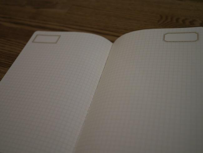 中を見ると・・・まぁ・・・普通のノートです。