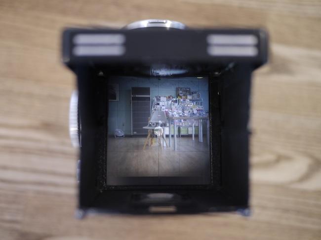 Rolleiflex・ファインダー
